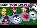 Paw Patrol and Vampirina Spooky Halloween Play Doh Logos - Fun toy stories for kids TT4U