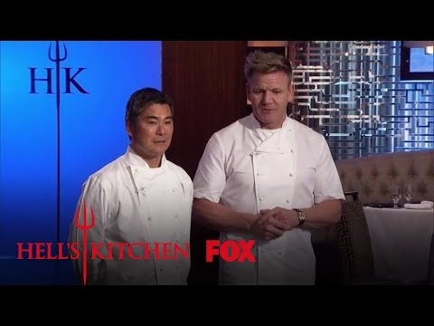 Gordon Introduces The World Famous Guest Judge Roy Yamaguchi | Season 16 Ep. 11 | HELL'S KITCHEN