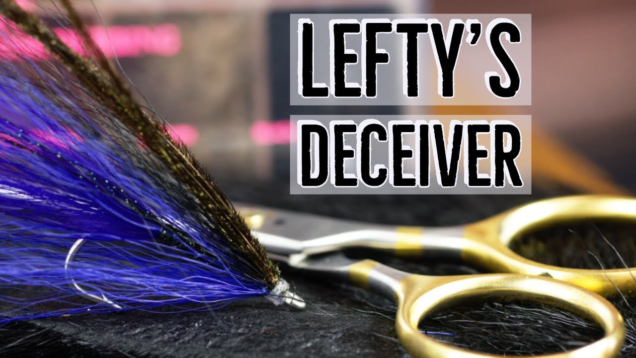 Size 2 Saltwater Fly Fishing Purple Lefty/'s Deceiver