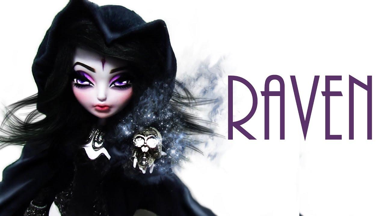 How to make a raven doll teen titans youtube solutioingenieria Choice Image