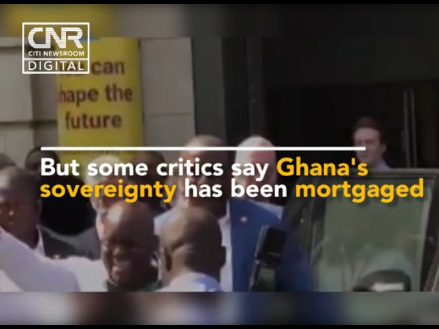 Angry Ghanaians in UK 'confront' Nana Addo over US military deal