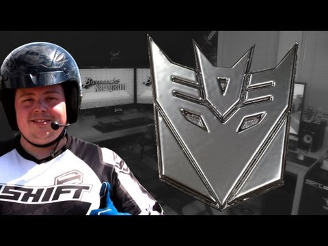 Printing & Painting Transformers Decepticons Logo in 3D on Ultimaker 3D Printer