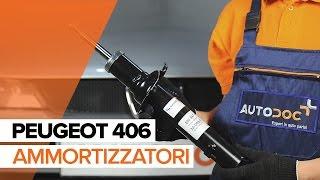 Montaggio Ammortizzatori anteriore e posteriore PEUGEOT 406 Break (8E/F): video gratuito