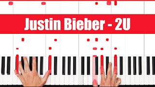 Download Mp3 2u David Guetta Ft. Justin Bieber Piano Tutorial Full Song