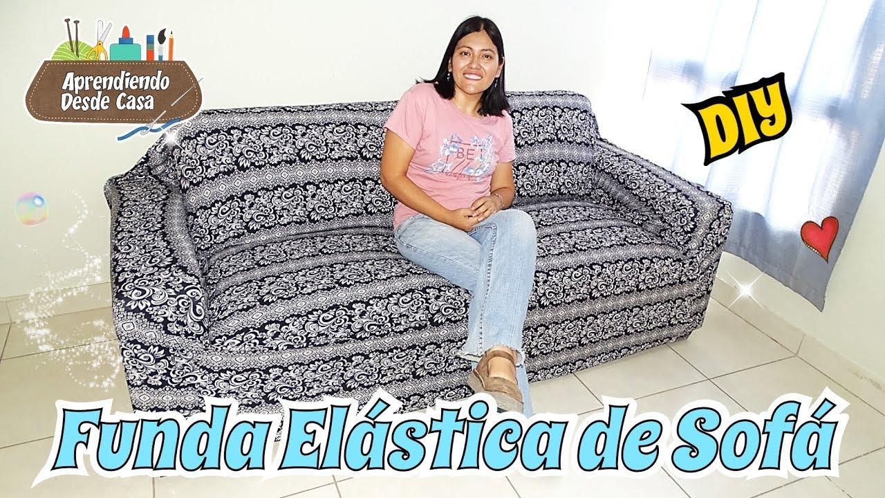 Como Hacer Fundas Para Cojines De Sofa.Como Hacer Funda De Sofa Elastico Diy Tutorial Costura Facil