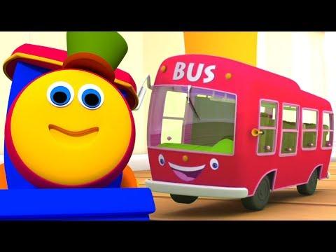 Bob der Zug | Die Räder vom Bus | Kinderreim | Wheels on The Bus | Bob The Train Deutschland