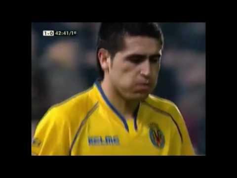 El día que Riquelme se vengó del Barça. Villarreal vs FC Barcelona. Año 2005