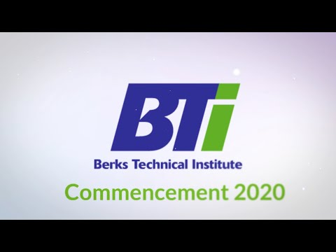 Berks Technical Institute Commencement October 2020