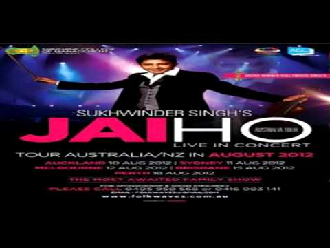 Jai Ho - Live in concert of Sukhwinder Singh in Adelaide