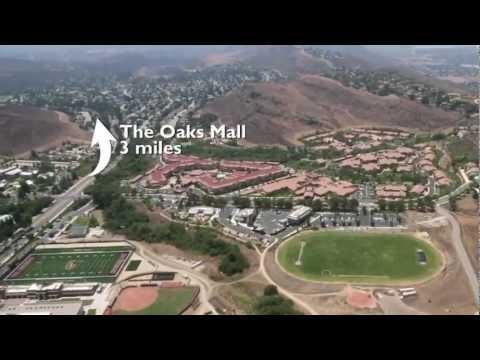 University Village Thousand Oaks Aerial Video