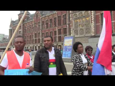 Biafran 30th May 2017 Heros Day in Amsterdam , Nederland.