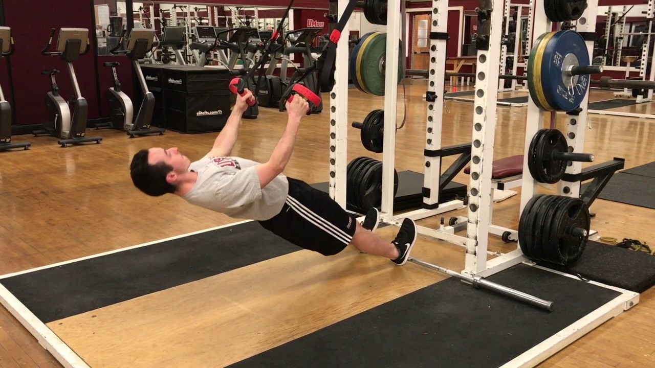 how to make an inverted row bar
