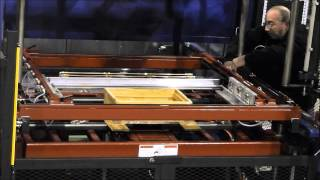 Quick Change Mold and Clamp Frames In Thermoforming
