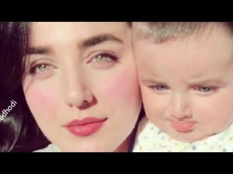 اجمل إمراة وطفلها في مواقع التواصل الاجتماعي في العراق 😍