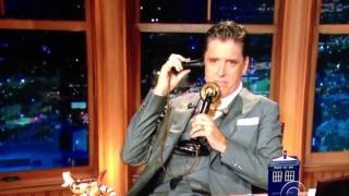 Craig Ferguson on the phone with Mrs Kardashian