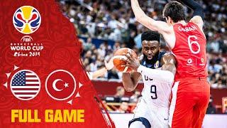 Team Usa Outlast The Turkish Effort In Ot! - Full Game - Fiba Basketball World Cup 2019