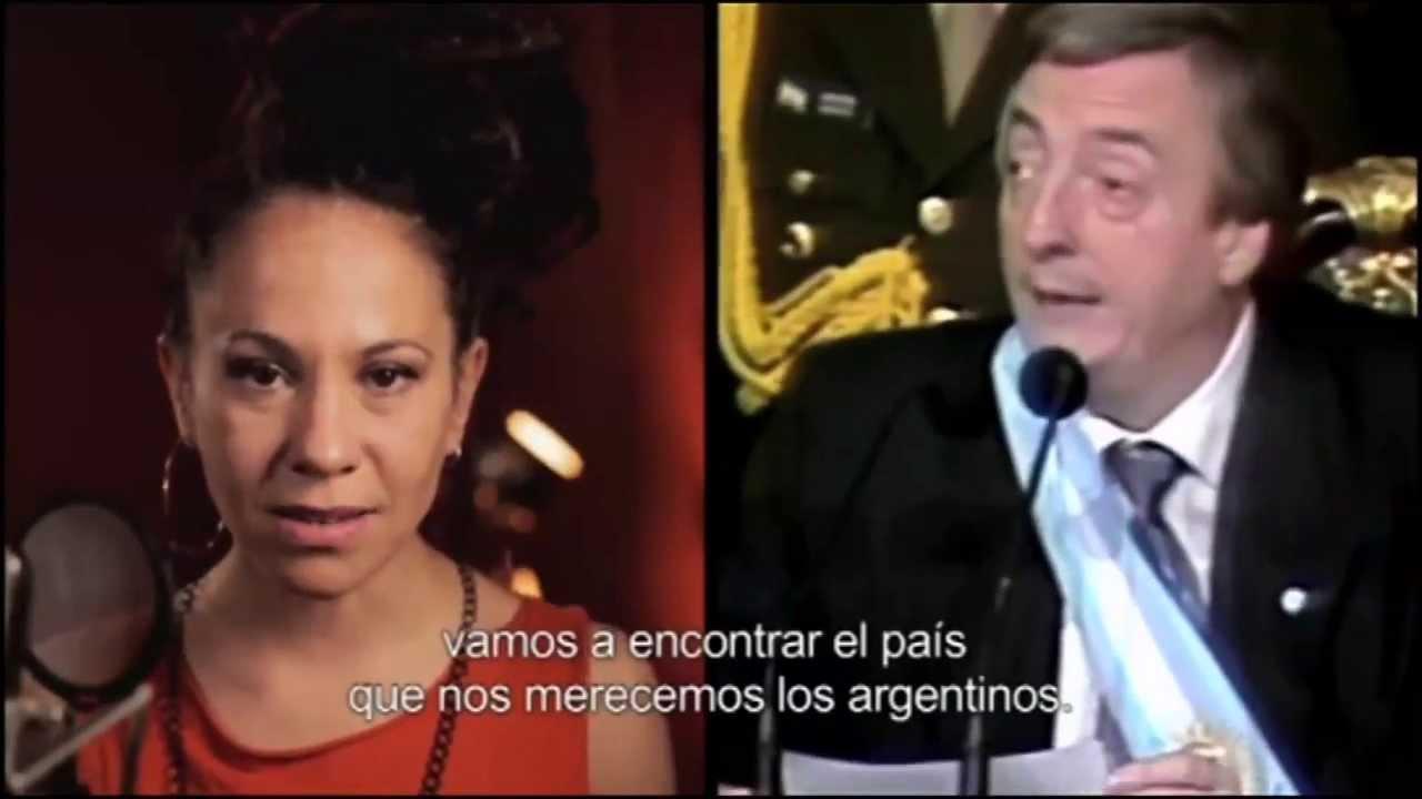 Vengo a proponer un sueño. Homenaje a Néstor Kirchner 2013. Institucional