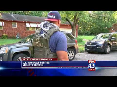 FOX13 Investigates: Behind-the-scenes with the U.S. Marshals