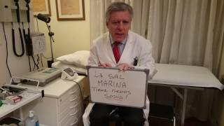 Marina edema? causa sal ¿La