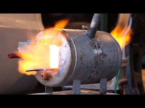 Homemade Propane Forge: Part 1 Materials and Plans