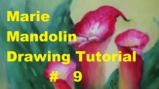Marie Mandolin ~ Drawing Tutorial # 9