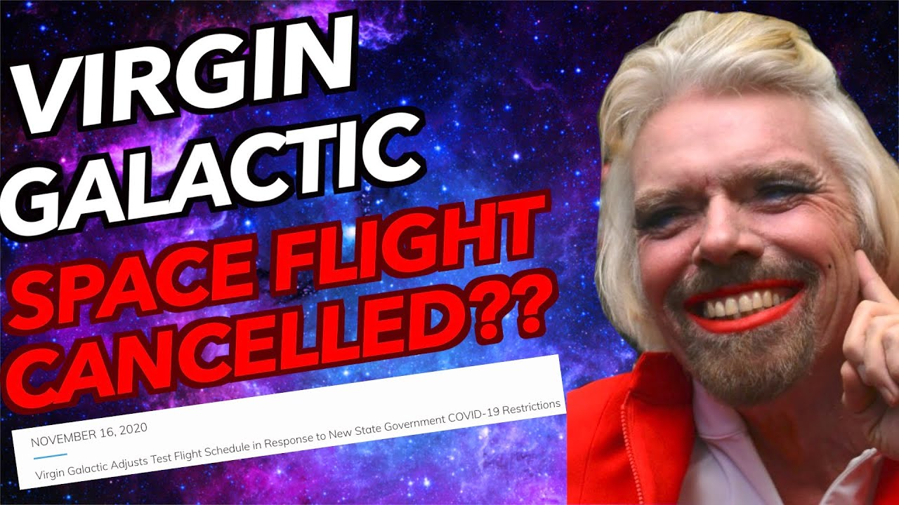 Virgin Galactic Test flight (Nov 19-23rd) Cancelled?? SPCE Stock Update! (Bad News)
