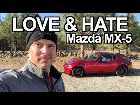 My Love Hate Relationship With 2019 Mazda MX-5 Miata RF On Everyman Driver