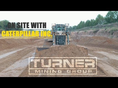 A Visit From Caterpillar And Carter Machinery - Turner Mining Group