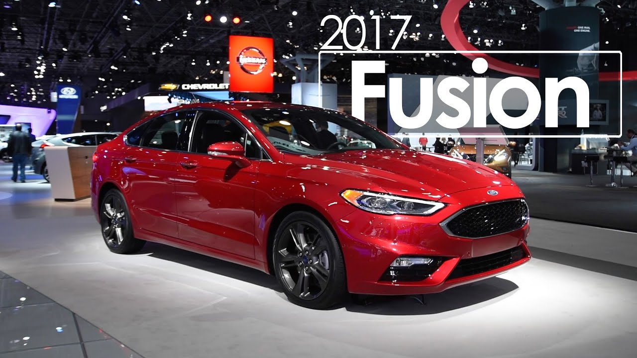Ford Fusion New York International Auto Show YouTube - Ford show car