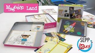Magnetic Land (Sepp Jeux) - Démo en français du jouet magnétique