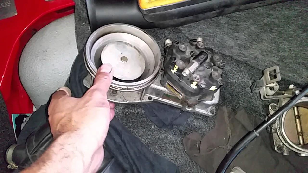 medium resolution of porsche 911 sc cis fuel system removed