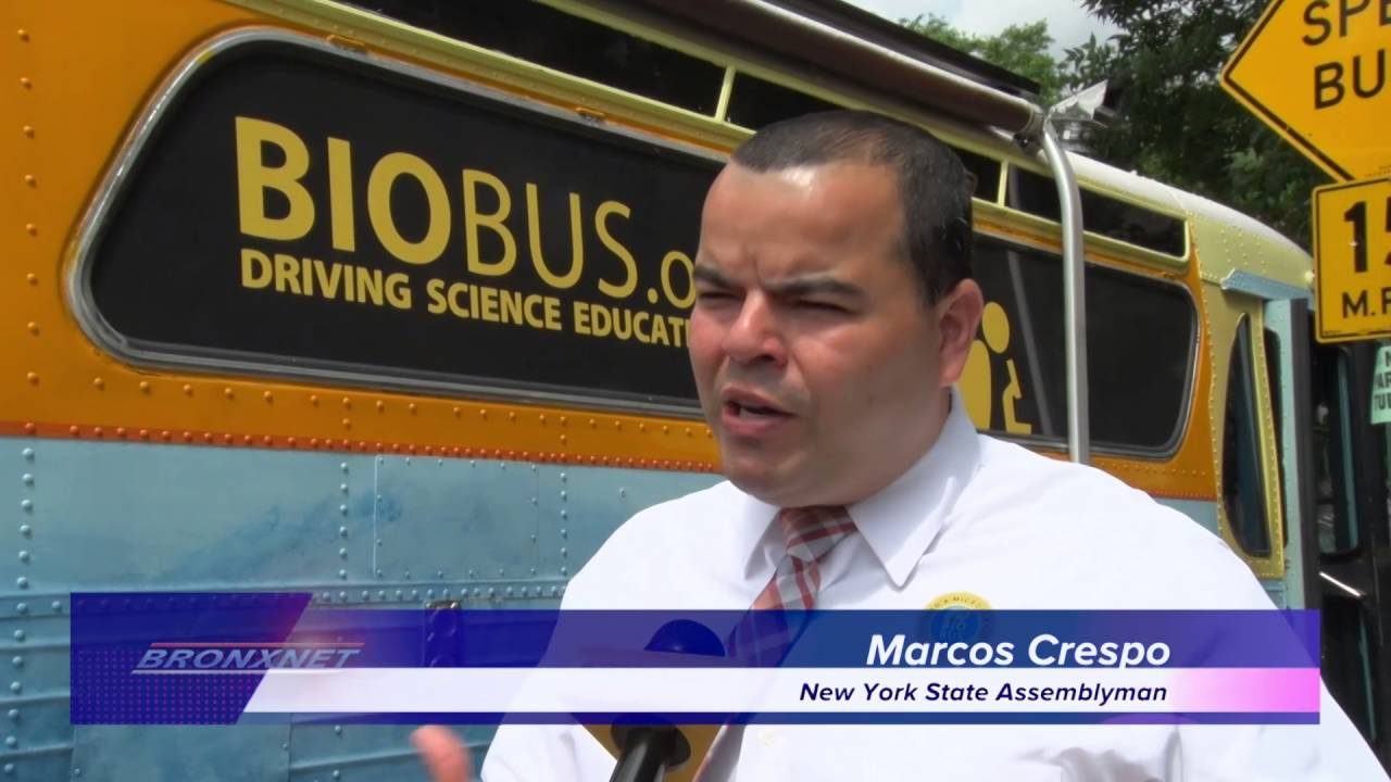 Assembly Member Crespo Brings Science To The Bronx On The BioBus