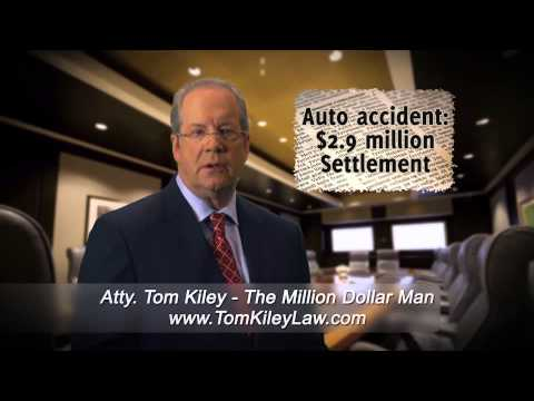 $2.9 Million Settlement Head On Car Accident With Drunk Driver