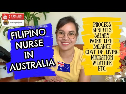 FILIPINO NURSE IN AUSTRALIA | PROCESS, SALARY, EXPENSES, WORK-LIFE BALANCE, MIGRATION IN AUSTRALIA