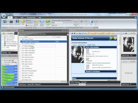 Best Movie Manager, Organizer and Collector software video review
