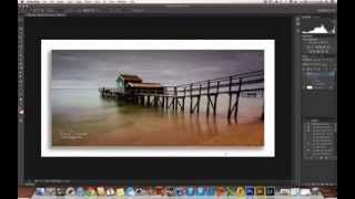 Drop Shadow Border Tutorial - Photoshop CS6