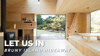 Tiny Cabin Luxury W Hidden Outdoor Bath! 🛁 Bruny Island Hideaway Let Us In Home Tour S01e27