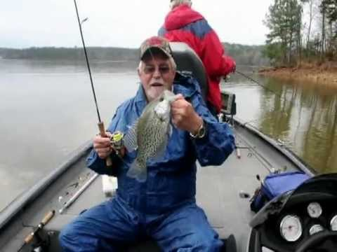 Crappie Logan Martin & Martin Lake Alabama March 2012.mp4