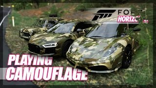 Forza Horizon 3 - Ultimate Camouflage Game! (Mini-Games & Random Fun)