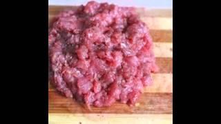 Холодные закуски мясные:Тартар из говядины