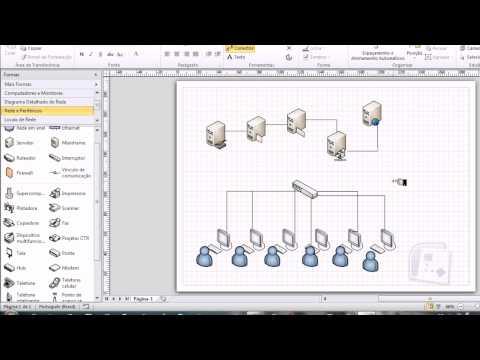 Diagrama avançado de rede MS VISIO from YouTube · Duration:  10 minutes 31 seconds