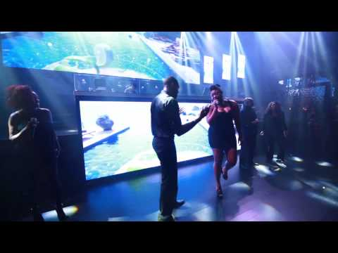 Las Vegas Flash Mob In Night Club with Choir