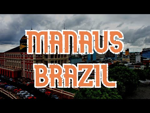 Manaus, Brazil in Google Earth