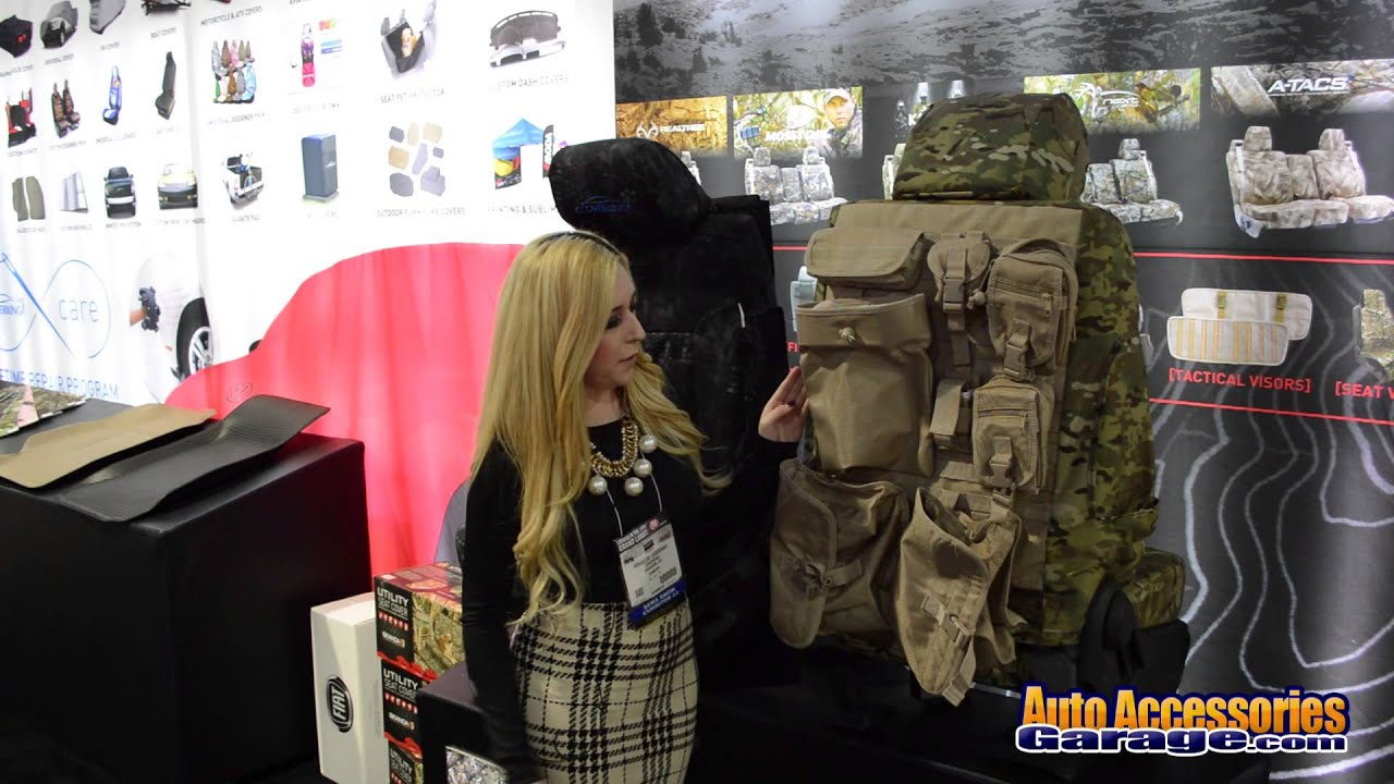 Coverking Balistic Molle Tactical Seat Covers Youtube