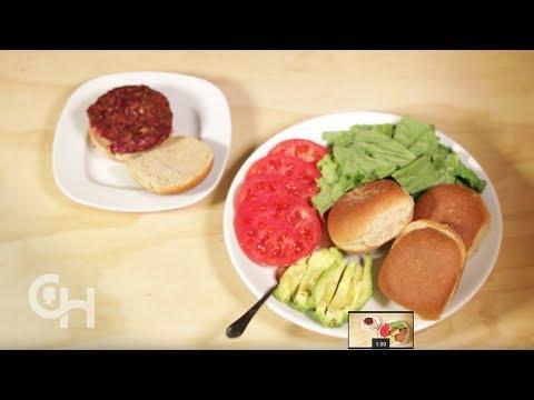 Anti-inflammatory Recipes: Veggie Burger