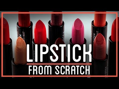 How To Make Lipstick & Lip Balm From Scratch | HTME: Cosmetics