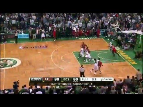 NBA Playoffs 2012: Atlanta Hawks Vs Boston Celtics Game 3 Highlights (1-2) HQ - YouTube
