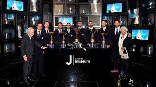 La coppa dello Scudetto allo Juventus Museum – Scudetto trophy arrives at J-Museum