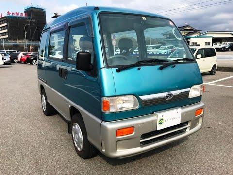 For Sale 1998 SUBARU SAMBAR VAN ★Very Clean Vehicle★4WD ★A/C ★Rear Heater