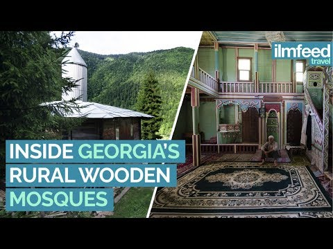 Inside Georgia's Rural Wooden Mosques